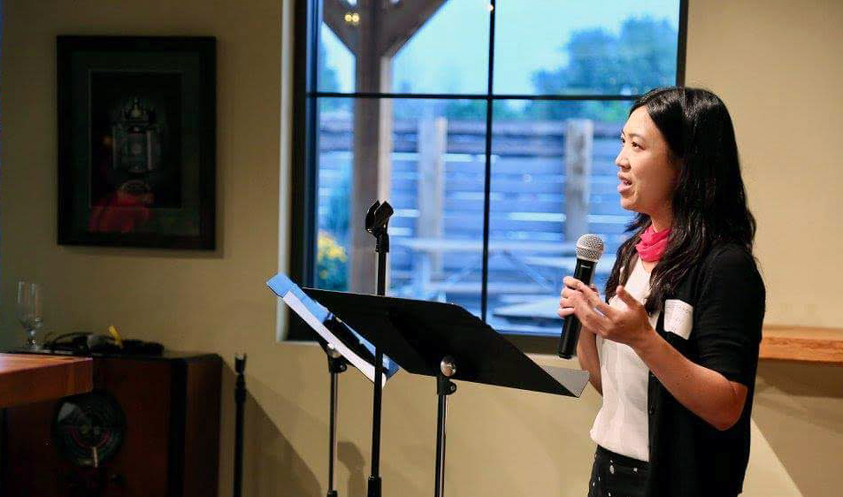 Hillary Lum works to help families with difficult conversations about health care.