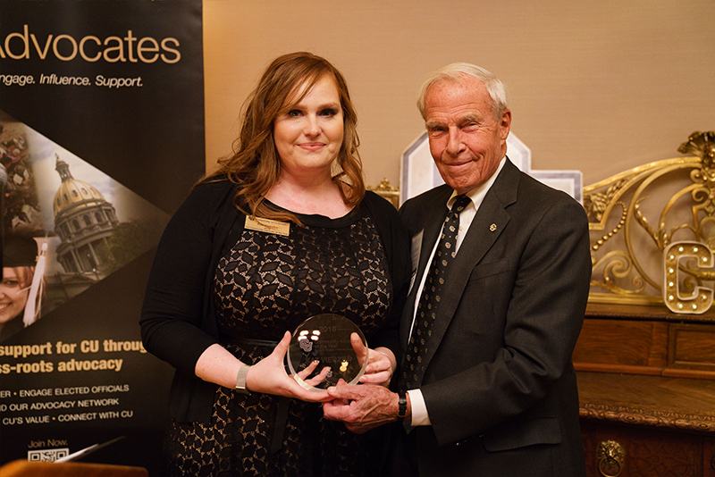 Kat Vierzba, CU Community Advocate of the Year