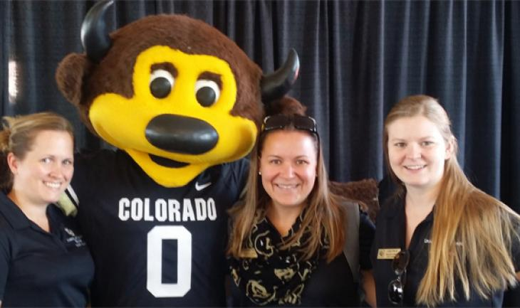 CU-Boulder staff tour new athletics facilities at open house
