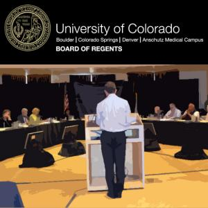 Board or Regents Meeting Coverage