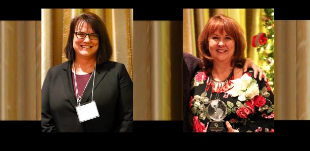 Two award recipients named at Excellence in Leadership Luncheon and Lecture