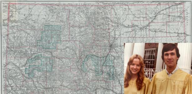 A love story, with maps