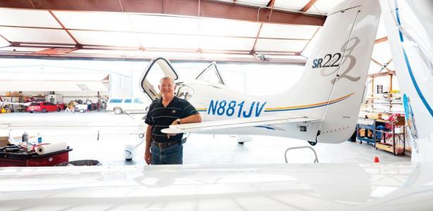 Astronaut Voss handles the Houston-to-Boulder commute
