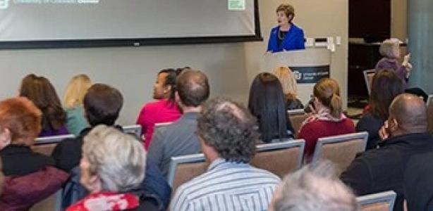 Chancellor Horrell launches Reach Out and Listen Tour, sets high aspirations for CU Denver