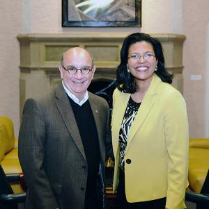 Chancellor Phil DiStefano and Kim Hunter Reed