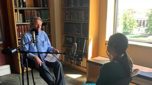 Vice President and host of CU On the Air Podcast, Ken McConnellogue interviews Professor Ana Maria Rey, CU Boulder