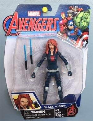 "A Black Widow action figure: ""In some small way, I am responsible for that existing,"" Bell says."