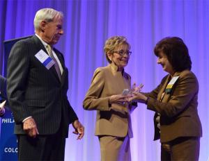 Bruce and Marcy Benson honored for exceptional philanthropy