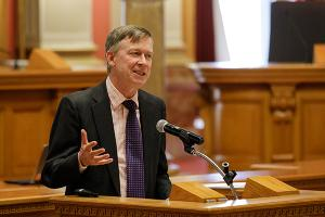 John Hickenlooper, Governor, State of Colorado