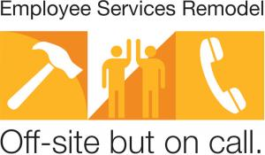 Employee Services commits to staying accessible during winter renovation project
