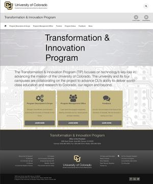 Transformation and Innovation Program