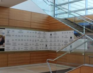 New donor walls showcase generosity and vision of CU Anschutz philanthropic community