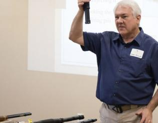 Firearm safety and training program aimed toward physicians