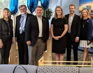 Sen. Gardner helps Cohen Clinic celebrate milestone