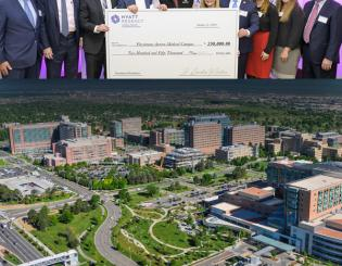 Hyatt Regency donates $250,000 to the CU Anschutz Medical Campus