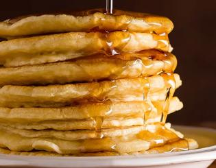 In battle of the pancakes, powerful protein and whole grains win