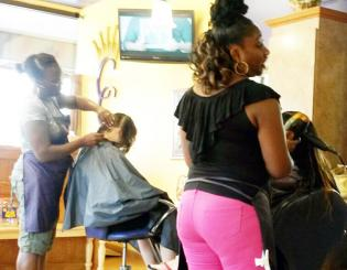 Roots of Change cares about young people's hair