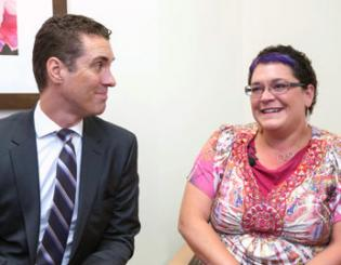 Clinical trial drug transforms life of cancer patient