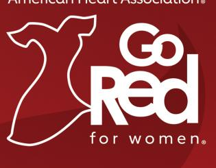 CU sponsoring Go Red for Women, an American Heart Association benefit