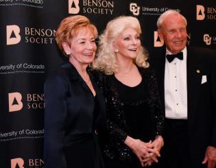 Benson Society gala salutes CU's most generous benefactors