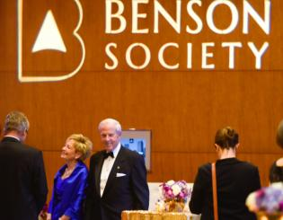 CU celebrates its most generous donors at Benson Society gala