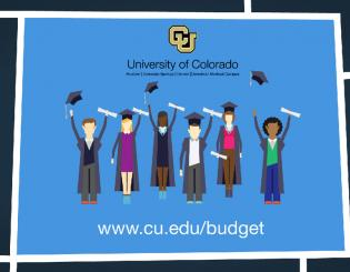 How does CU's budget work?