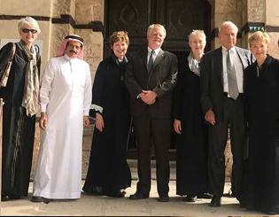 CU delegation, including President Bruce Benson and First Lady Marcy Benson, visits leaders and alumni in Middle East