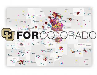 CU for Colorado showcases outreach programs via new interactive map