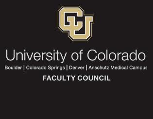 CU Faculty Council