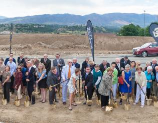 UCCS Ent Center for the Arts breaks ground