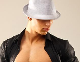 Researcher finds men strip for self-esteem boost