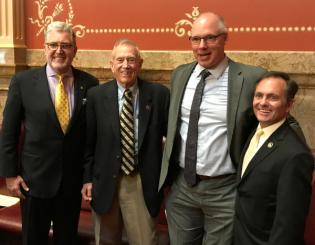 Regents honored at Capitol