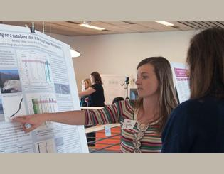 Student researchers, faculty mentors shine