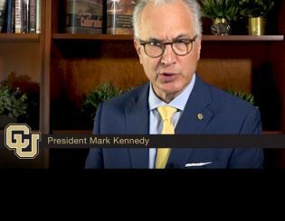 CU President Mark Kennedy