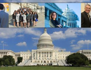 MS. V GOES TO DC -- Internship inspires Hispanic student