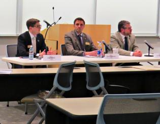 Regent candidates come together for debate