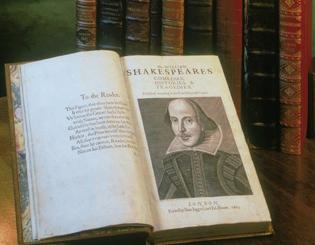 Shakespeare First Folio includes 36 plays