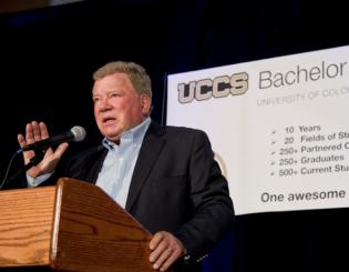 Shatner delivers 'Hope and Innovation' for BI 10th Anniversary Gala