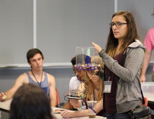 Back to the future: High schoolers get hands-on experience at CU-Boulder