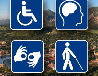 Call for nominations: Disability Services Awards at CU Boulder