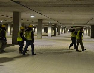 Opening Jan. 7, new garage to add 555 campus parking spots