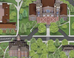 New campus map takes wayfinding to the next level