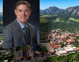 Patrick O'Rourke named chief operating officer for CU Boulder