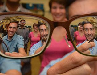 Partnership 'looks into' creating new material from eyeglass lens waste