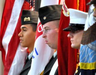Veterans celebrated in series of campus, community events