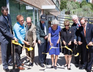 McCord-Herbst Student Veterans Center opens to fanfare