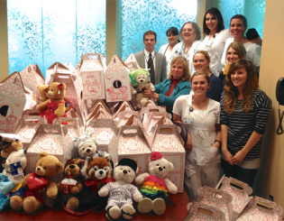 Beth-El students, faculty lead Valentine's Day Bear Drive