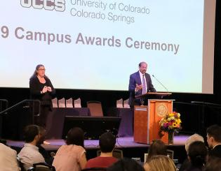 UCCS celebrates leaders at Campus Awards Ceremony