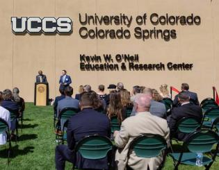 UCCS names Cybersecurity Education and Research Center in honor of distinguished alumnus Kevin W. O'Neil