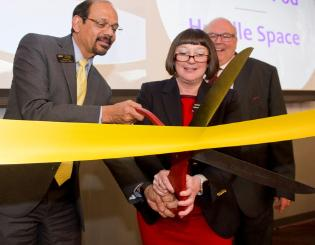 Department of Teaching and Learning celebrate new facilities in University Hall